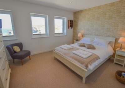 Bedroom #2 at The Lookout, Portreath