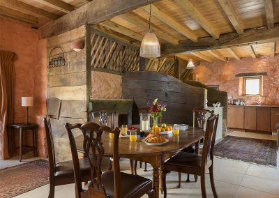 The dining area at The Manger, Welland