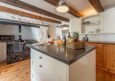 The farmhouse kitchen at The Manor House, Port Isaac