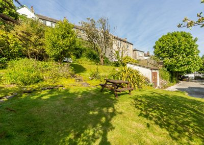 The garden at The Manor House, Port Isaac