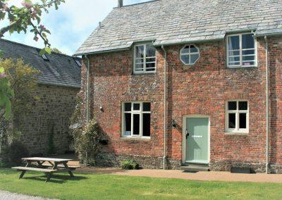 Outside The Mews, Glebe House Cottages, Bridgerule