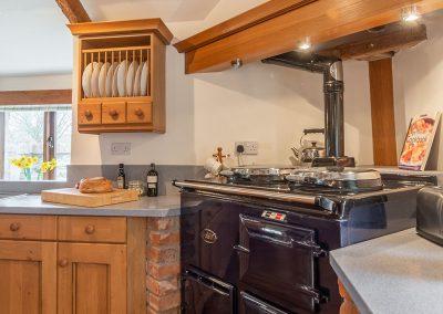 The kitchen at The Millhouse, Roserrow, Polzeath