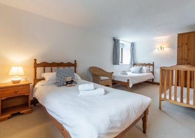 Bedroom #4 at The Millhouse, Roserrow, Polzeath