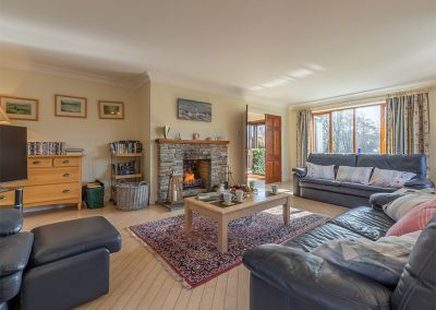 The living area at The Nineteenth, Roserrow, Polzeath