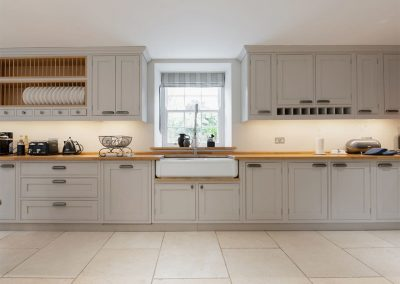 The kitchen at The Old Vicarage, Lelant