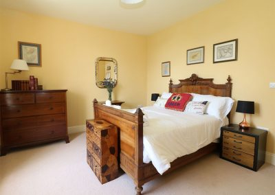 Bedroom #1 at The Old Vicarage, St Issey