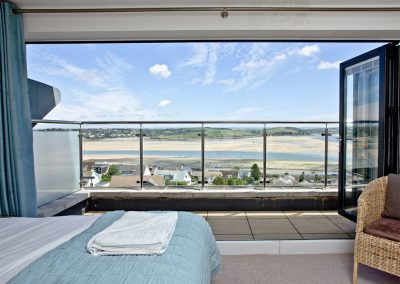 Bedroom #1 at The Penthouse at Padstow