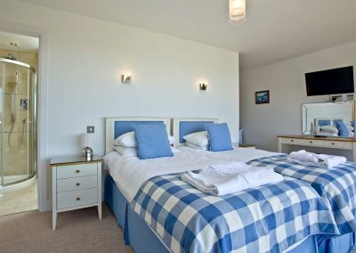 Bedroom #2 at The Penthouse at Padstow