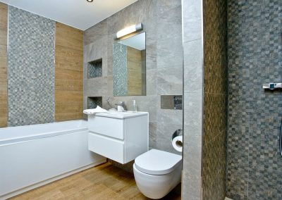 The bathroom at The Penthouse at Padstow