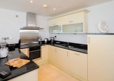 The kitchen @ The Penthouse, Nassau Court, Westward Ho!