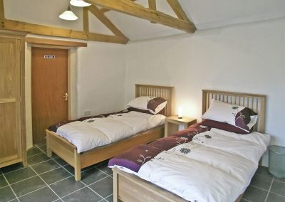 Bedroom #4 at The Place 2 B, Higher Churchtown Farm, Tresmeer