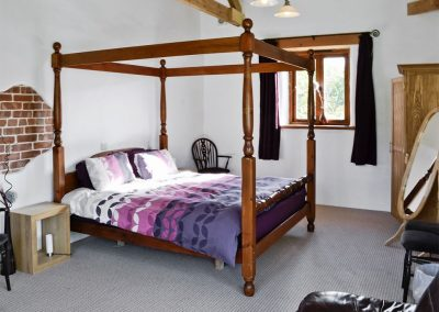 Bedroom #5 at The Place 2 B, Higher Churchtown Farm, Tresmeer