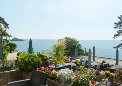 The Regency Apartment, Torquay is part of a row of palatial town houses looking out over the sea