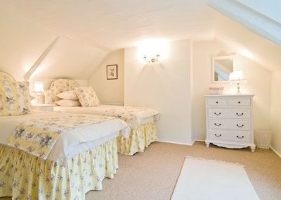 Bedroom #2 @ The Rigging, Polperro