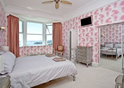 Bedroom #2 at The Riviera Mansion, Torquay