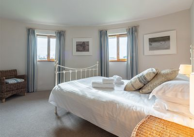 Bedroom #1 at The Roundhouse, Roserrow, Polzeath