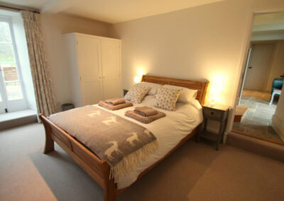 Bedroom #3 at The Roundhouse, West Anstey