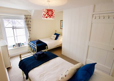 Bedroom #2 at The Shell Seekers, Fowey