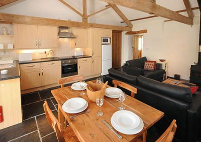 The dining area @ The Smithy, Park Mill Farm