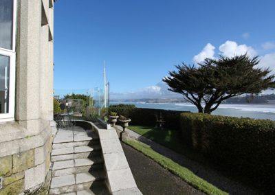 Outside The View, Pentowan House, Newquay