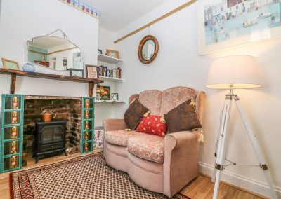 The living area at Tolvarne, Teignmouth