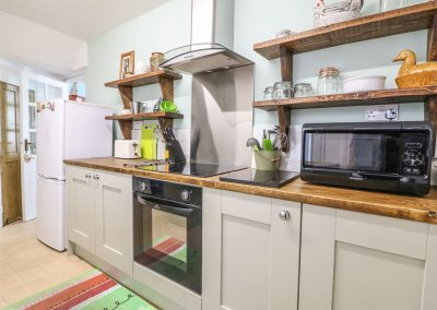 The kitchen at Tolvarne, Teignmouth