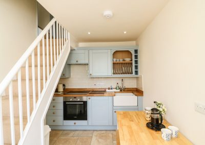The kitchen & dining area at Travershes Cottage, Withycombe Raleigh