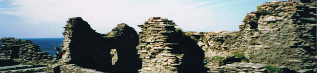 Tread in the path of King Arthur with the Tintagel Castle tour