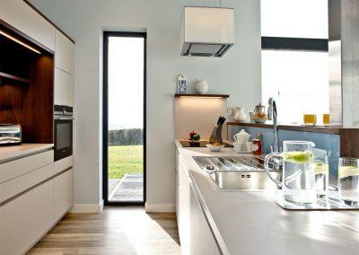 The kitchen at Trebarwith, Wooda Farm, Bush