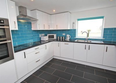 The kitchen at Tree Tops, Camelford
