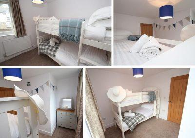 Bedroom #4 at Tree Tops, Camelford