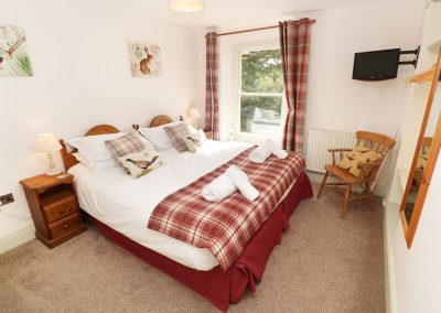 Bedroom #6 at Tregoninny Vineyard and Woodland Farmhouse, Tresillion