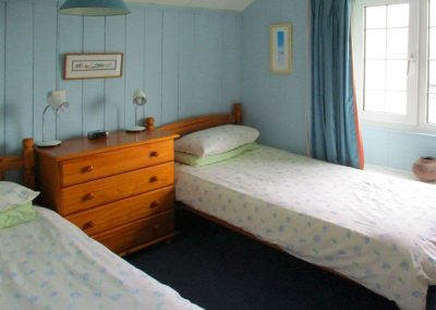 Bedroom #3 at Tremaer, Maer