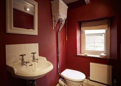 The WC at Trencreek Farmhouse, Tregony