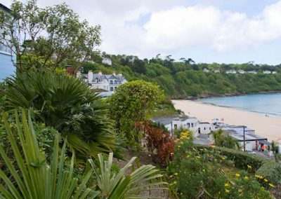 The garden @ Trencrom Villa, St Ives