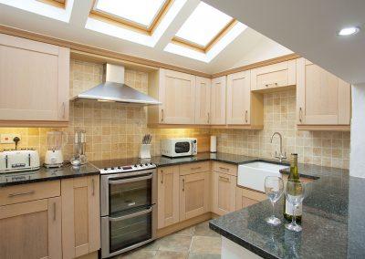 The kitchen at Trethun, Porthleven