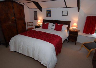 Bedroom #1 at Trevalley, Pendoggett