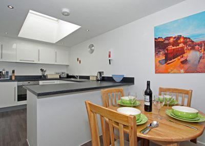 The dining area and kitchen @ Trevena, Newquay