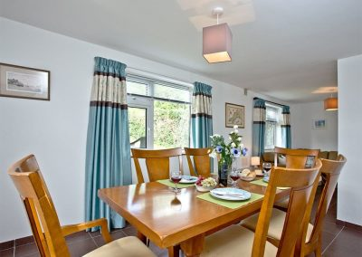 The dining area at Trevistas, Padstow