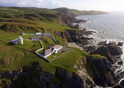 Bull Point Lighthouse's location offers a simply breathtaking panorama of sea views & coastal walks