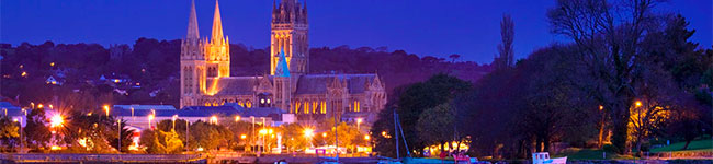Truro Cathedral may look like any other imposing mediaeval cathedral, but it was actually only started in 1880 and finished in the mid-20th century!