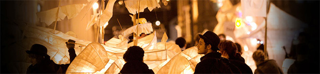 If you think that your town or city pulls out all of the stops when it comes to switching on the Christmas lights, take a look at Truro! Their City Of Lights carnival does include the switching on of the Christmas lights but that is only the tip of the iceberg!