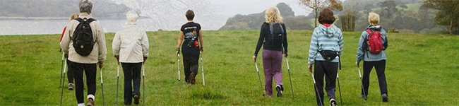 If you fancy trying Nordic Walking then head down to Trelissick Garden and join in their Nordic Walking Taster Day. This free introductory session includes the use of Nordic poles. Just sign up and turn up in suitable footwear to give it a try.