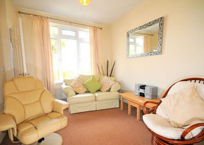 The living area @ Two Beaches, Paignton