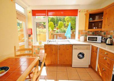 The kitchen & dining area @ Two Beaches, Paignton