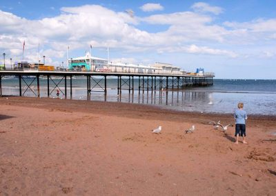 Paignton Beach and Pier is within a 10 minute walk of Two Beaches, Paignton