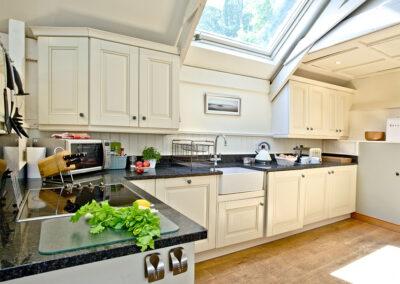 The kitchen at Twysden Cottage, West Charleton Grange, West Charleton