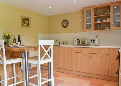 The kitchen & dining area at Umber House, Harbourneford