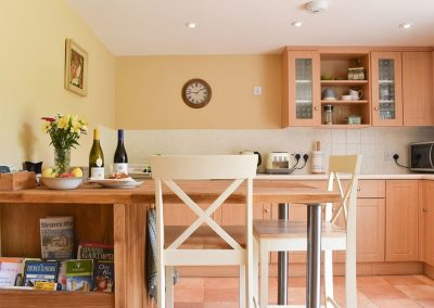 The dining area at Umber House, Harbourneford