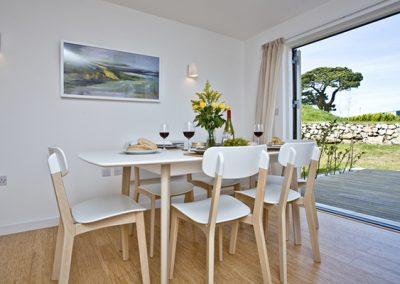 The dining area @ Una Cuprum 53, St Ives